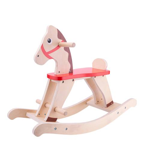 New Classic Toys Wooden Rocking Horse