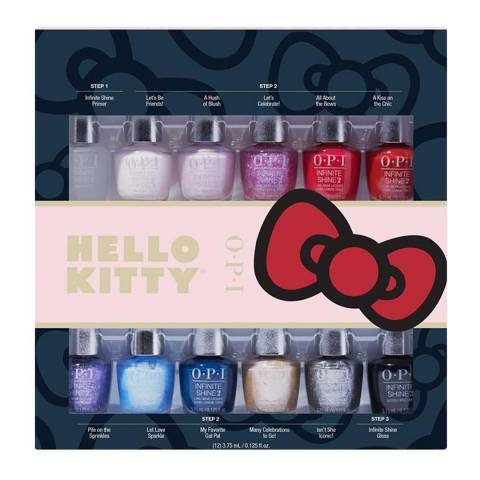 OPI Inifinite Shine 12pc Mini-Pack