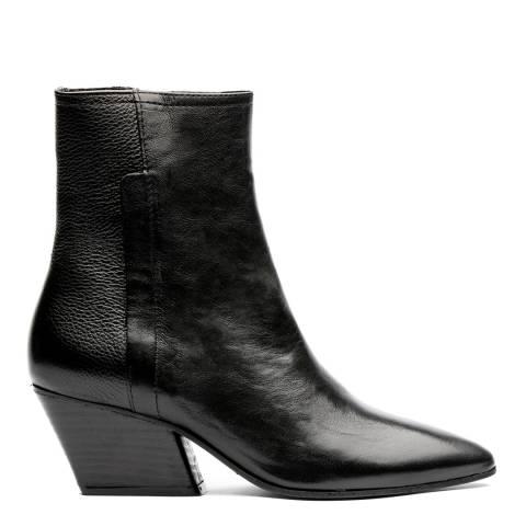 H by Hudson Black Elm Ankle Boots
