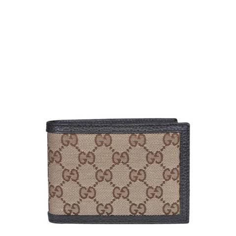 Gucci Men's Brown/Beige Guccissima Wallet