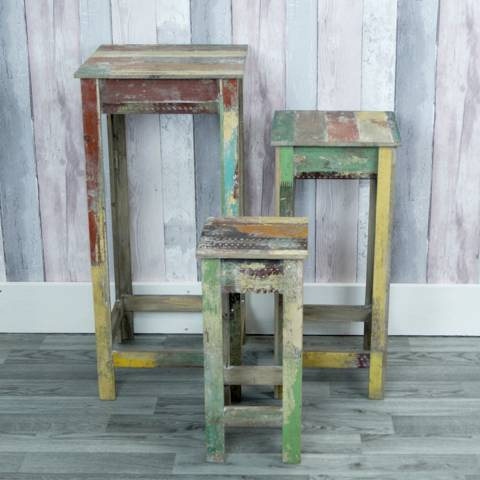 The Satchville Gift Company Set Of 3 Display Tables