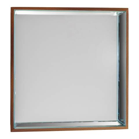 Gallery Set of 6 Pacific Square Mirrors 35x3.5x35cm