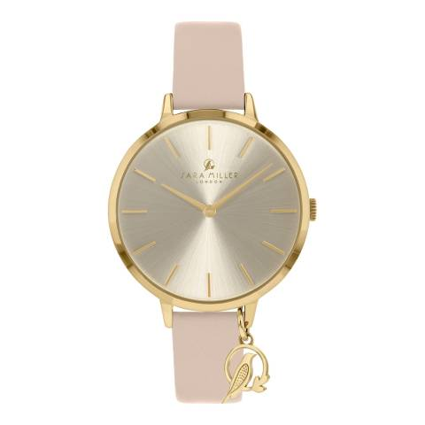 Sara Miller Trench Sunray Dial Watch