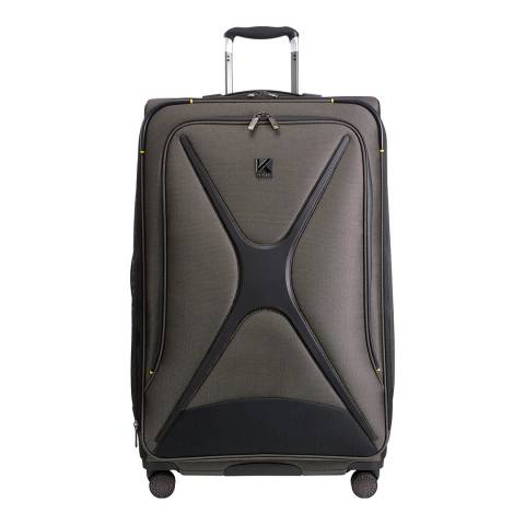 Kevlar Grey Enterprise Large Suitcase