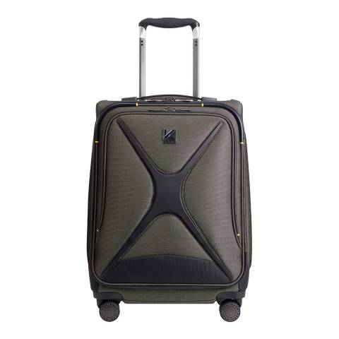 Kevlar Grey Discovery Small Suitcase