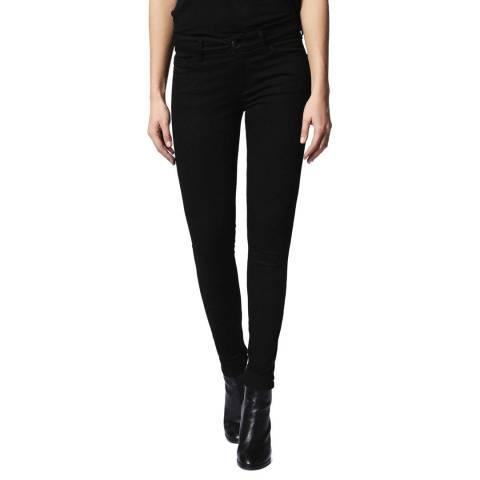 Diesel Black Slandy Skinny Stretch Jeans