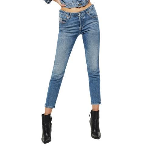 Diesel Blue Babhila Skinny Stretch Jeans