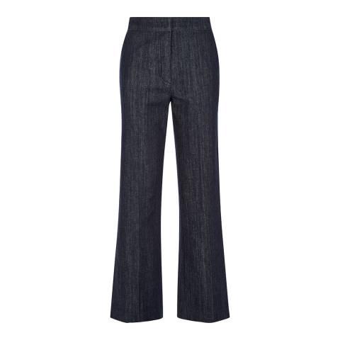 ALEXA CHUNG Blue Denim Trousers