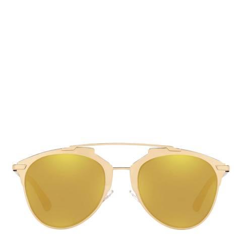Christian Dior Women's Gold Plum Christian Dior Sunglasses 52mm