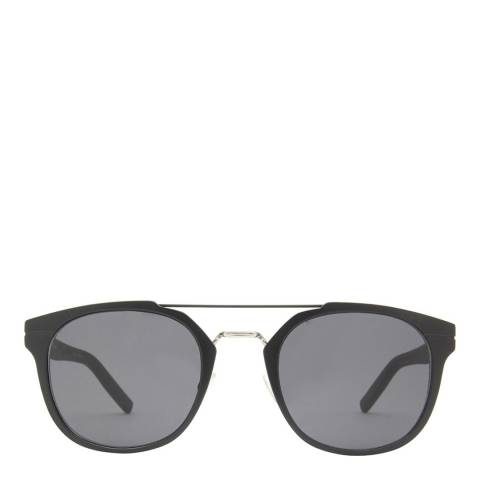 Christian Dior Unisex Ruthenium Black Dior Sunglasses 52mm