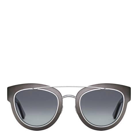 Christian Dior Women's Black Matte Ruthenium Christian Dior Sunglasses 47mm