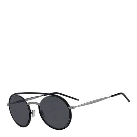 Christian Dior Unisex Dark Ruthenium Black Dior Sunglasses 51mm