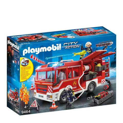 Playmobil City Action Fire Engine with Working Water Cannon