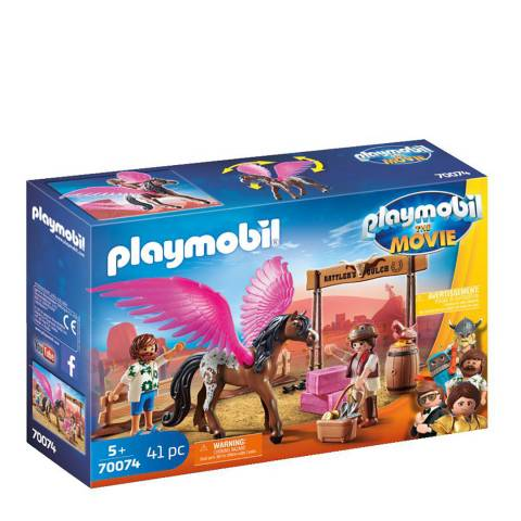 Playmobil The Movie Marla & Del with Flying Horse
