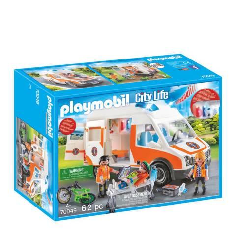 Playmobil City Life Ambulance with Lights & Sound