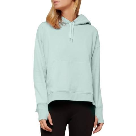 N°· Eleven Mint Cotton Hooded Sweatshirt