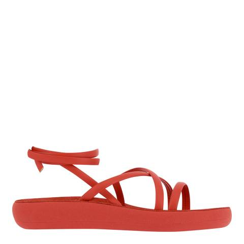 Ancient Greek Red Morfi Comfort Sandals