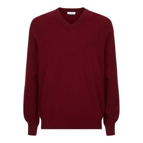 Le Chameau Men's Red Asthall Jumper