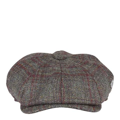 Le Chameau Multi Tweed Baker Boy Hat