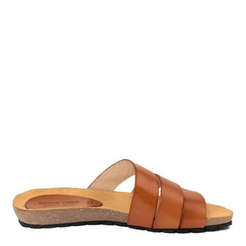 Piemme Tan Multiple Strap Sandal