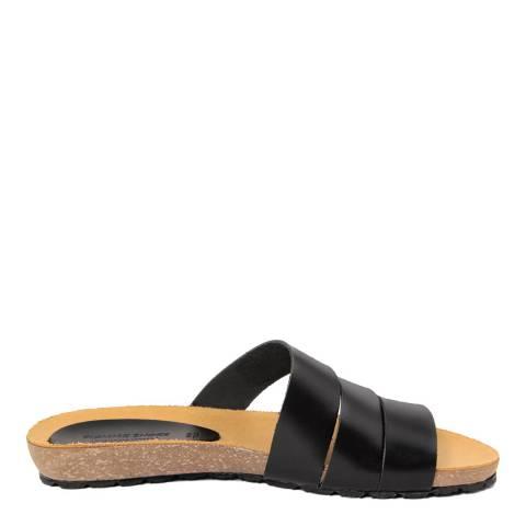 Piemme Black Multiple Strap Sandal