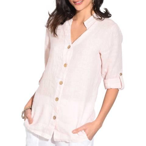 Le Jardin Du Lin Beige Linen Shirt