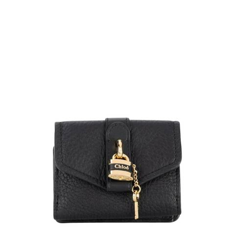 Chloe Black Small Aby Wallet