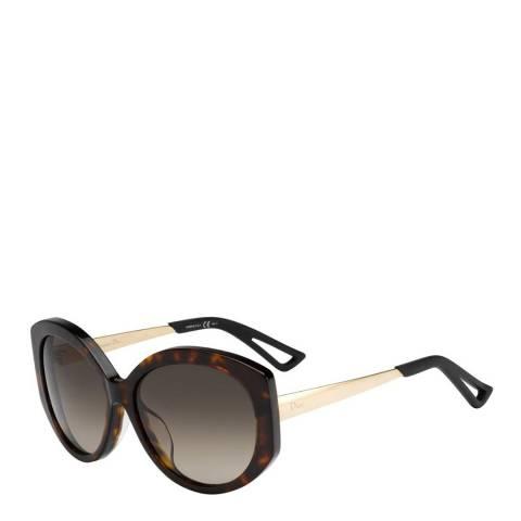 Dior Women's Brown/Gold Dior Sunglasses 58mm