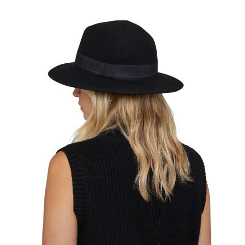 N°· Eleven Black Wool Fedora
