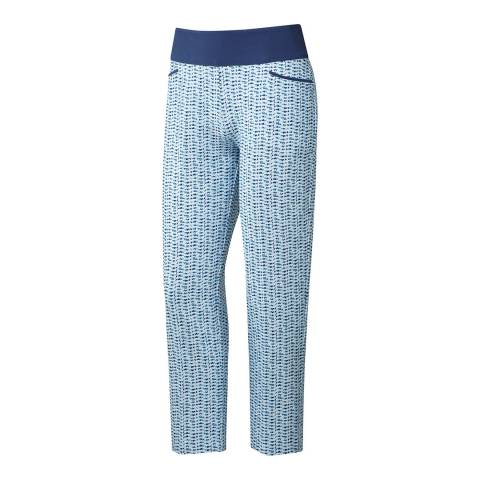 Adidas Golf Women's Blue Print Pants