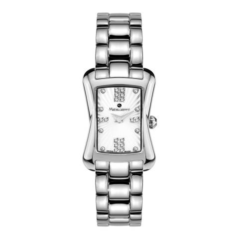 Mathieu Legrand Women's Silver Stainless Steel Quartz Watch