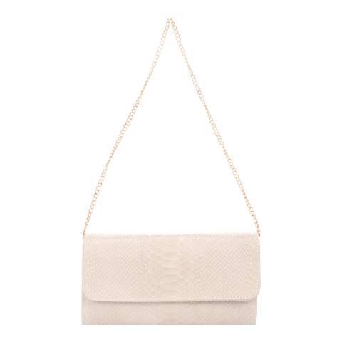 Giorgio Costa Blush Leather Clutch Bag