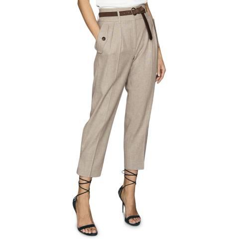 Reiss Grey Marta Pocket Front Trousers
