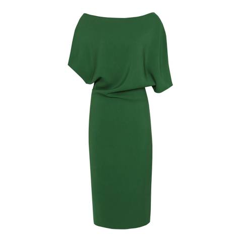 Reiss Green Madisn Bodycon Dress