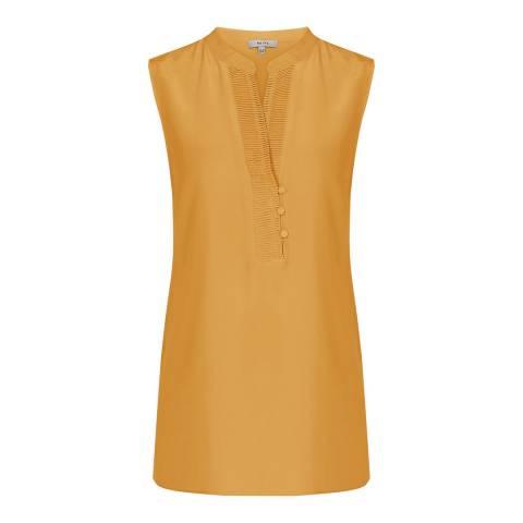 Reiss Orange Cecily Silk Button Blouse