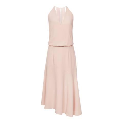 Reiss Pink Talin Strappy Dress