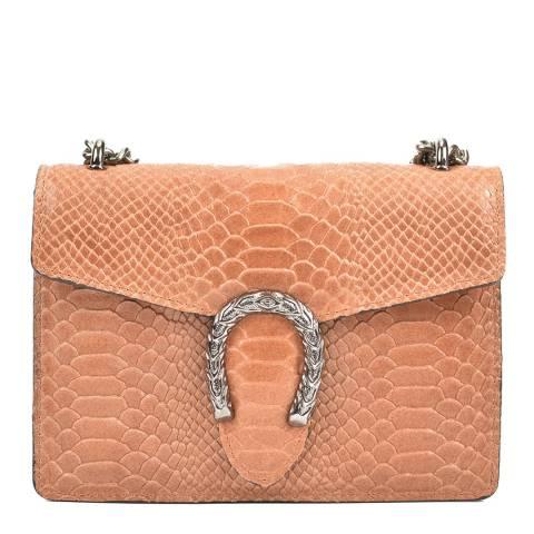 Renata Corsi Cognac Leather Shoulder/Crossbody Bag