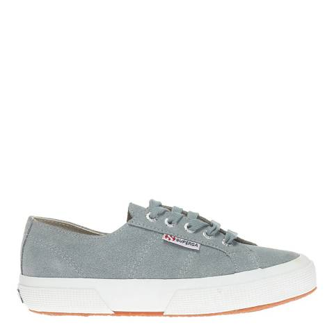 Superga Light Grey Suede Leather Unisex 270 Trainers