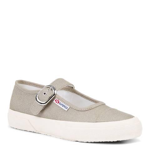Superga Light Gold Superga x Alexa Chung Lurex Shoes