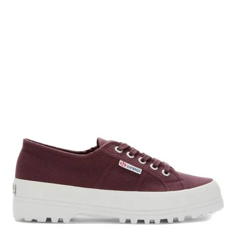 Superga Red Dark Wine 2555 Cotu Alpina Trainers