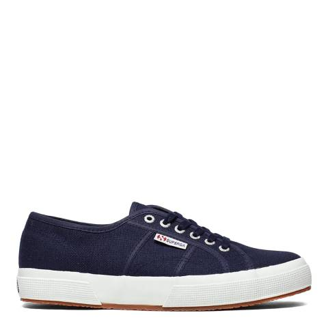 Superga Blue Navy 2750 Unisex Cotu Classic Canvas Trainers