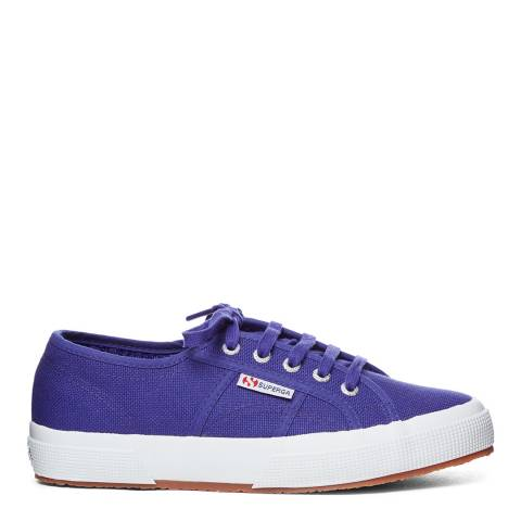 Superga Violet Purple 2750 Unisex Cotu Classic Canvas Trainers