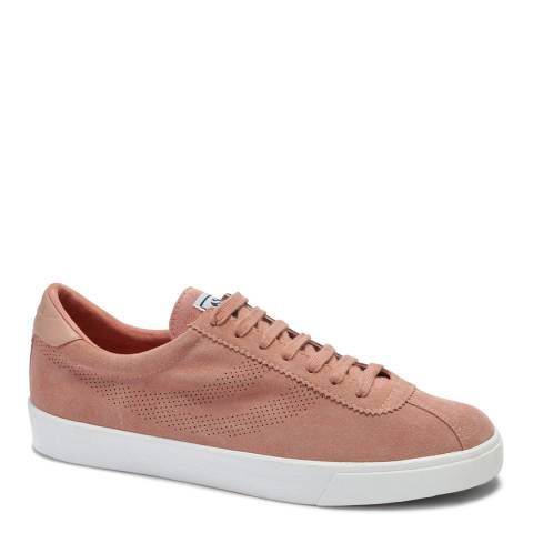 Superga Burnt Coral 2743 Suede Trainers
