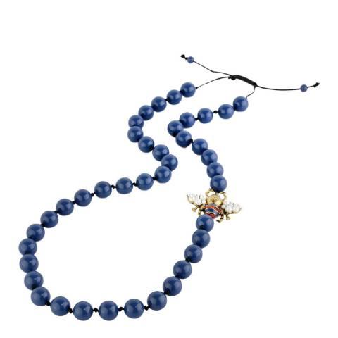 Amrita Singh Blue Bumble Beaded Necklace