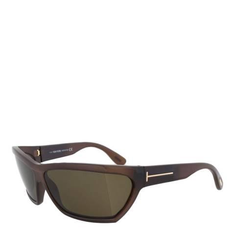Tom Ford Unisex Brown Tom Ford Sunglasses 55mm