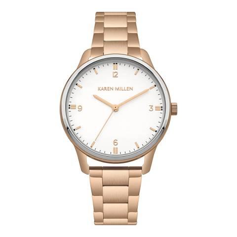 Karen Millen Gold Bracelet Watch