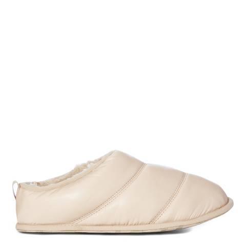 Sorel Pink Shiny Nylon Hadley Slippers