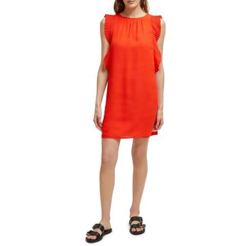 Great Plains Red Acacia Frill Dress
