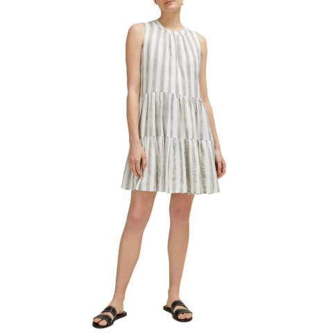 Great Plains White Hollywood Striped Dress