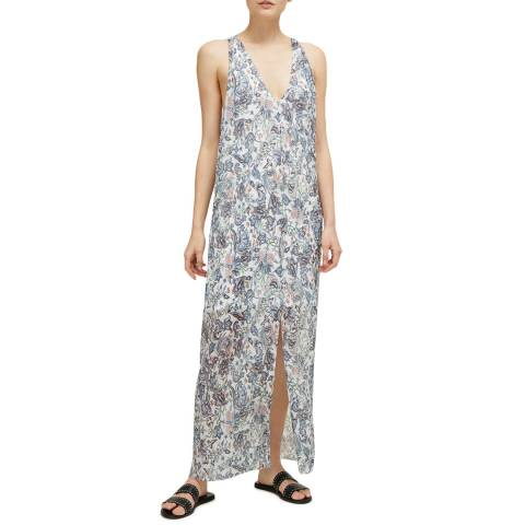 Great Plains Milk/Multi Juno Sea Flower Maxi Dress
